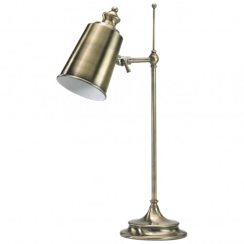 adjustable brass table lamp