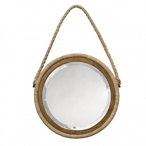 palecek bayview hanging rope mirror