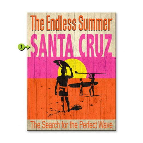 the endless summer customizable wood sign