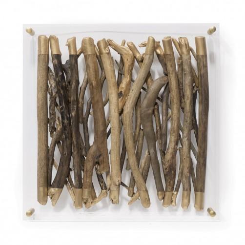 palecek acrylic driftwood wall decor-square