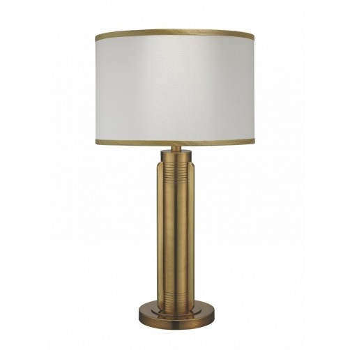 jamie young belvedere table lamp w/ drum shade