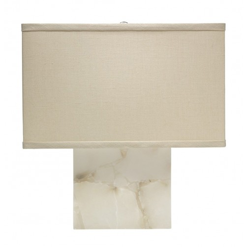 jamie young small borealis table lamp w/ rectangle shade