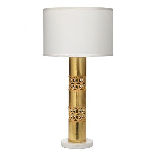 jamie young chara table lamp w/ drum shade