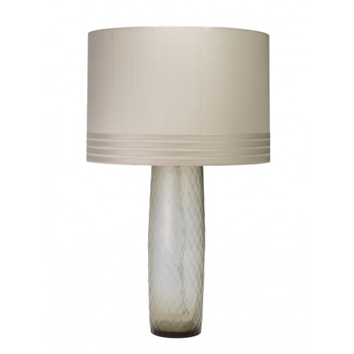 jamie young cloud table lamp w/ banded drum shade