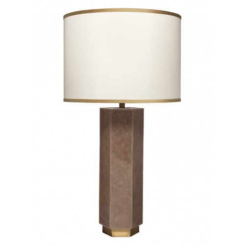 jamie young paloma table lamp w/ large drum shade