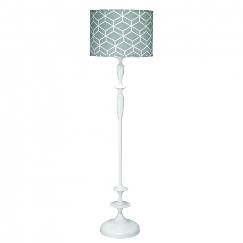 jamie young petite paro floor lamp w/ large drum shade