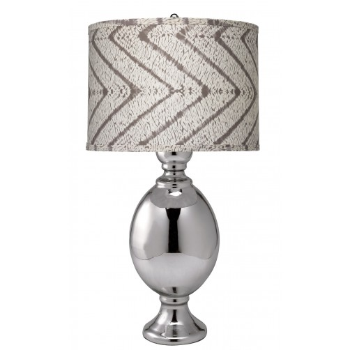 jamie young large st. charles table lamp w/ large drum shade