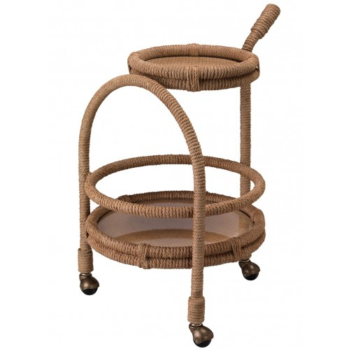 jamie young palm bay bar cart