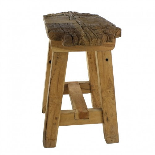 homart portico salvaged wood stool
