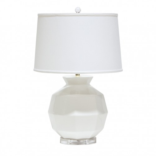 palecek holly ceramic table lamp