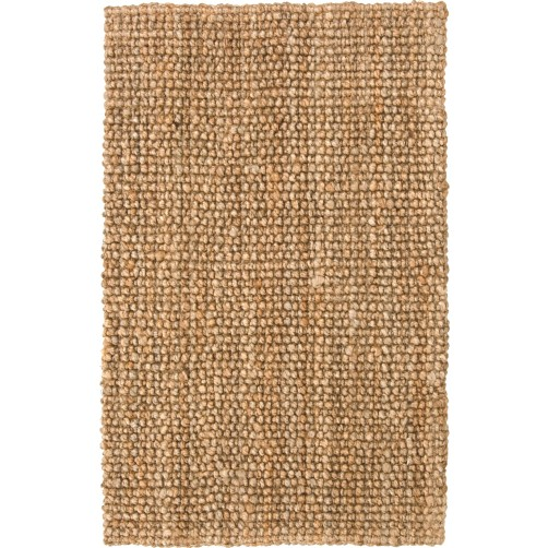 chunky loop natural jute rug