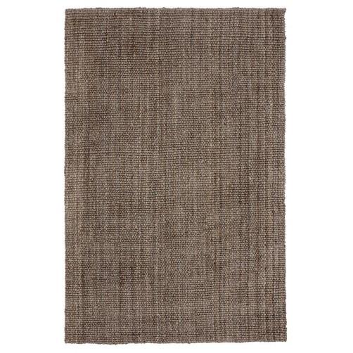 chunky loop rug, grey