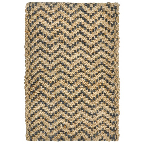 herringbone grey braided jute rug