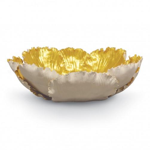 large ceramic tulip bowl
