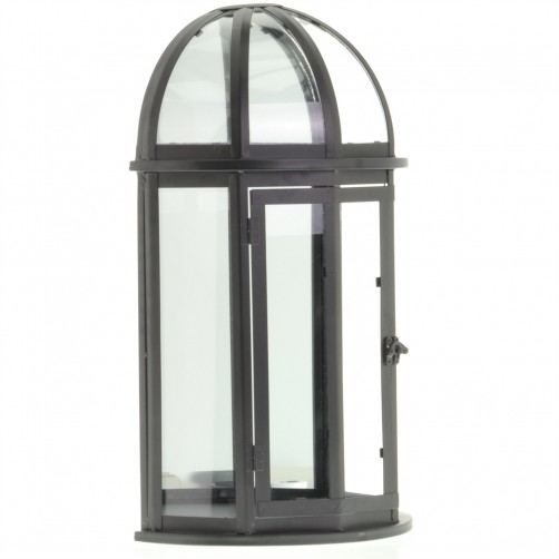 homart wall mount capital display case, antique black