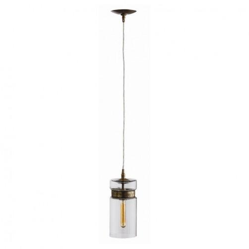 arteriors garrison cylindrical pendant lamp