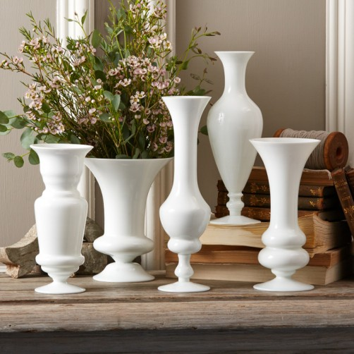 maison blanche white vases set of 5