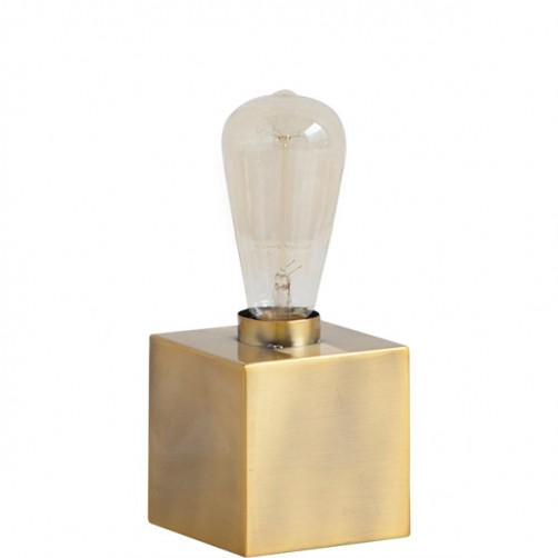 visio table lamp-gold