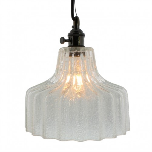 homart stina glass pendant light, medium
