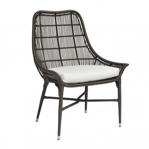 palecek lucca outdoor arm chair, espresso
