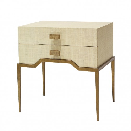 palecek avery side table