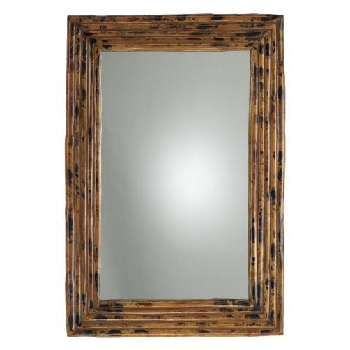 tortoise gloss rectangle mirror
