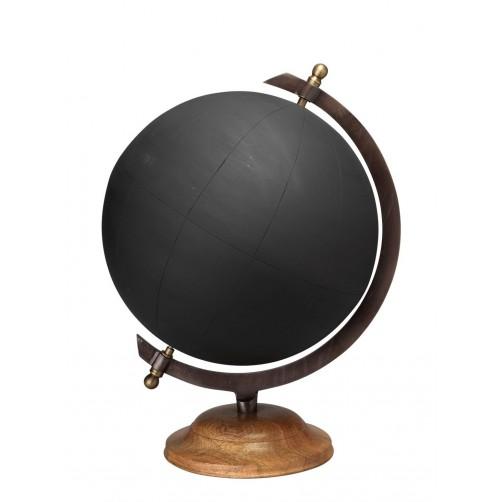 large chalkboard globe