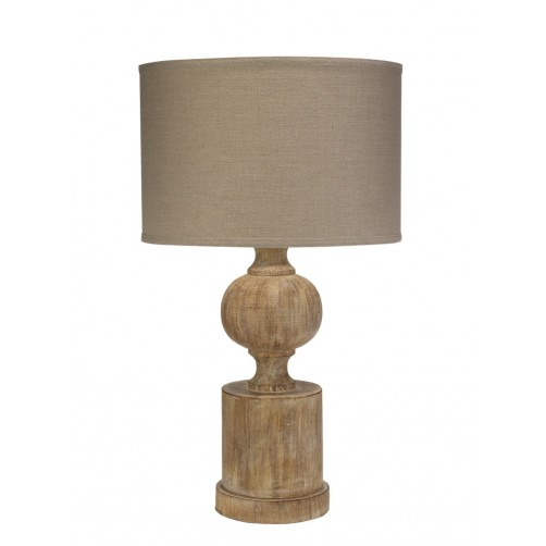 jamie young windward table lamp w/ drum shade