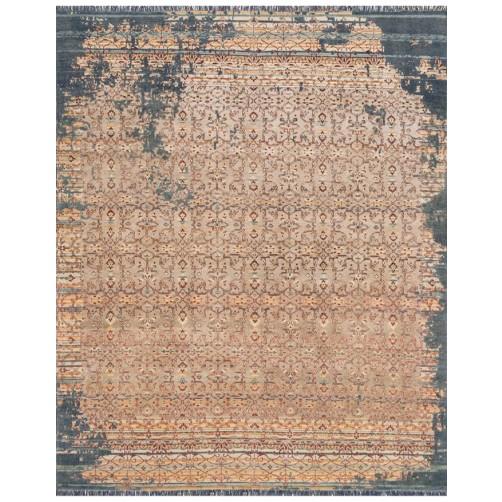 ashton collection platinum & multi rug