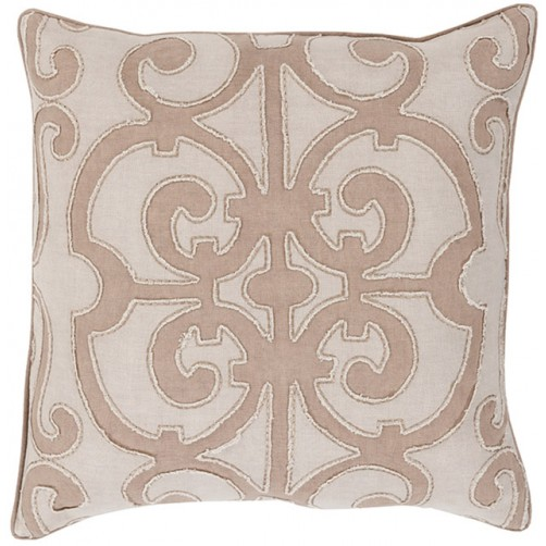 surya amelia camel pillow