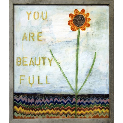 you are beauty full art print