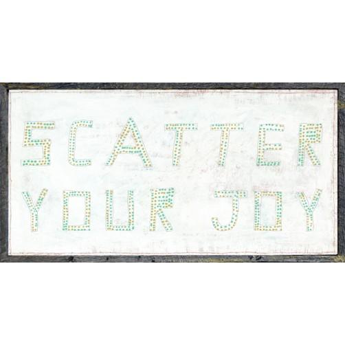 scatter your joy art print