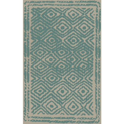 surya atlas malachite blue area rug