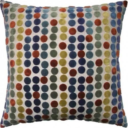 avery dots russet pillow