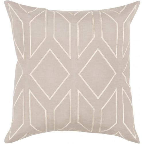 surya skyline taupe pillow