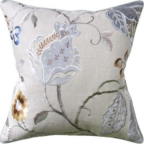 cally aqua pillow