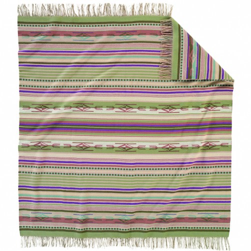 pendleton chimayo agave fringed throw