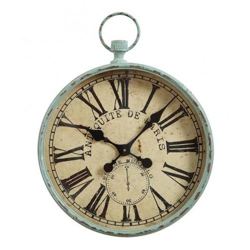 iron pocket watch wall clock