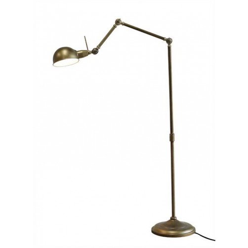 metal jointed floor lamp