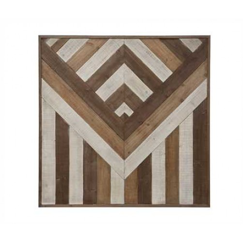 pieced wood wall decor