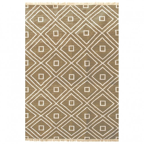 dash & albert mali camel indoor/outdoor rug