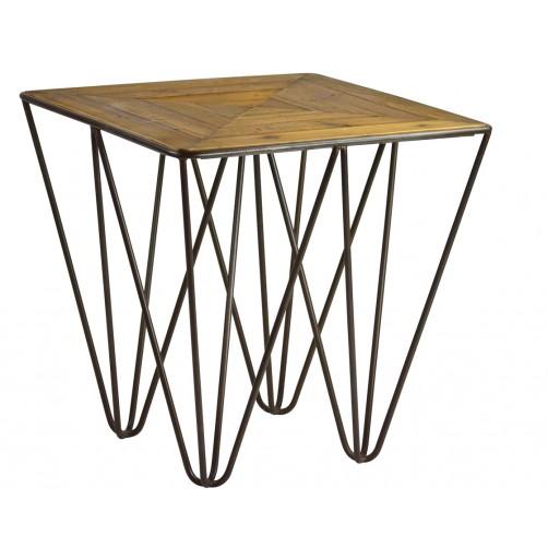 langer end table