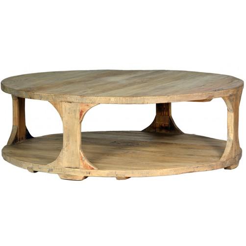 """boston 48"""" round coffee table"""