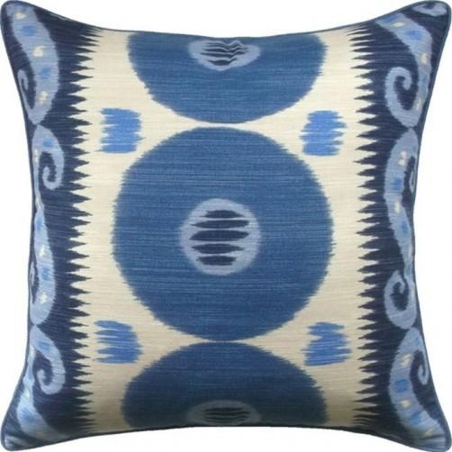 emir indigo pillow