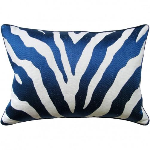 etosha navy bolster pillow