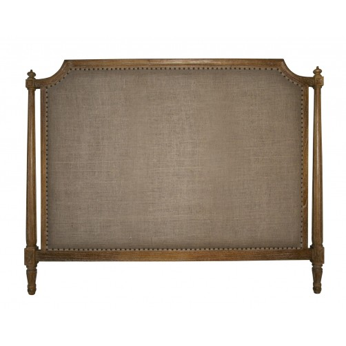 noir isabelle grey wash headboard