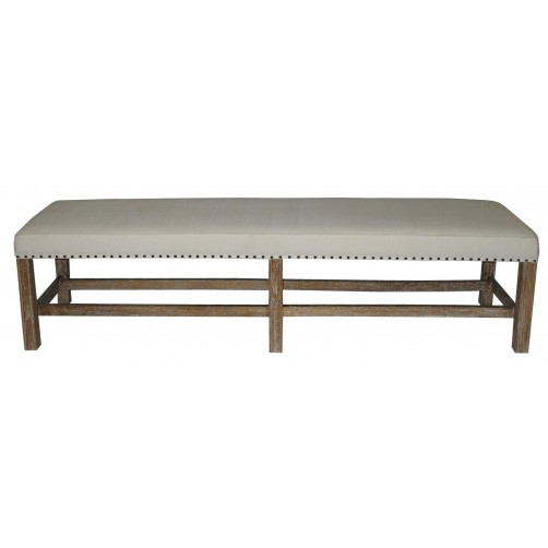 noir sweden grey wash bench
