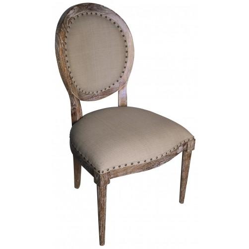 noir kent side chair