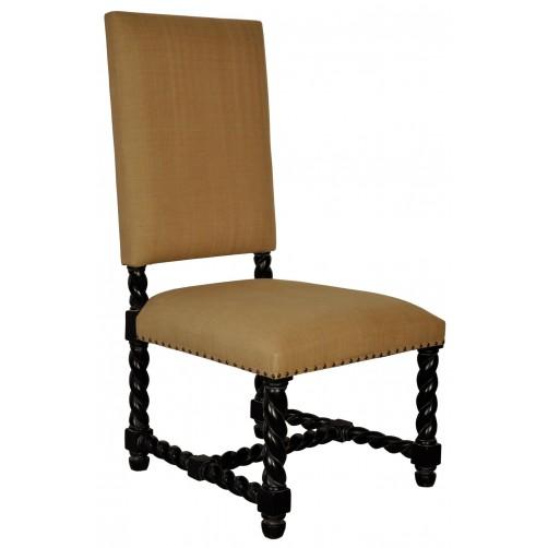 noir charles side chair
