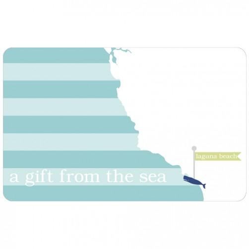 """""""laguna beach"""" gift card"""
